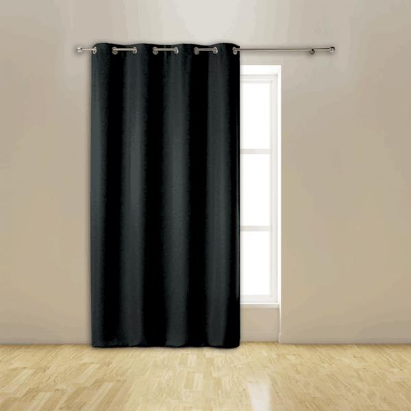 Rideau occultant noir isolant thermique