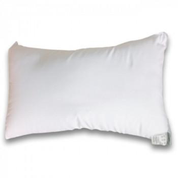 Coussin rectangle neutre blanc 30 x 50 cm