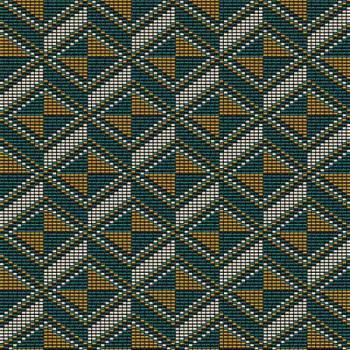 Tissu jacquard Géométrique 150 cm