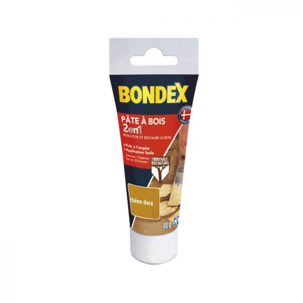 Pâte à bois 2 en 1 BONDEX chêne doré...
