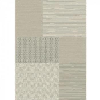 Tapis géométrique gris 120x170 cm