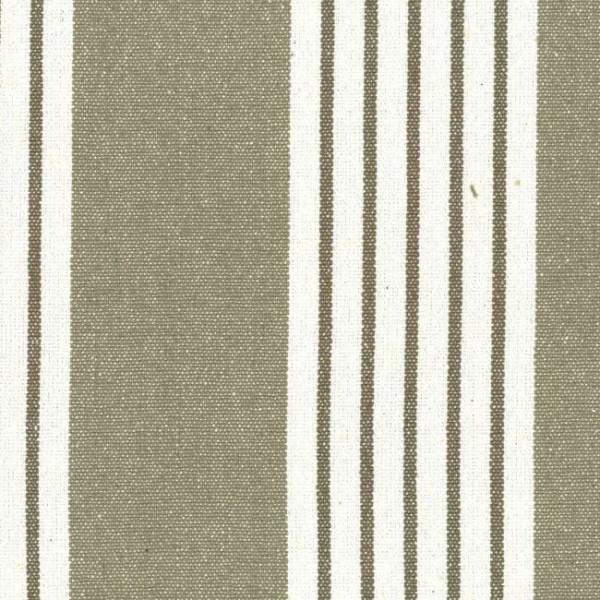 Tissu coton beige avec rayures...