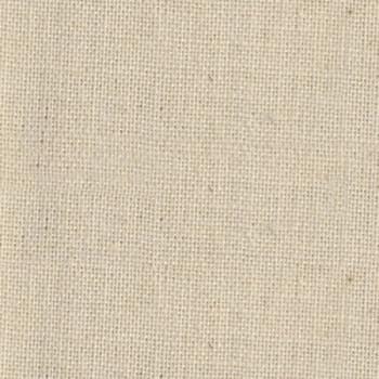 Tissu toile mate uni écru 180 cm