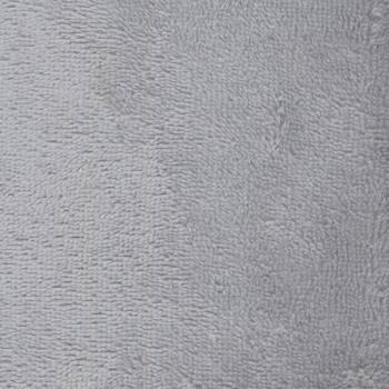 Tissu éponge bambou gris 160 cm