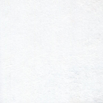 Tissu éponge bambou blanc 160 cm