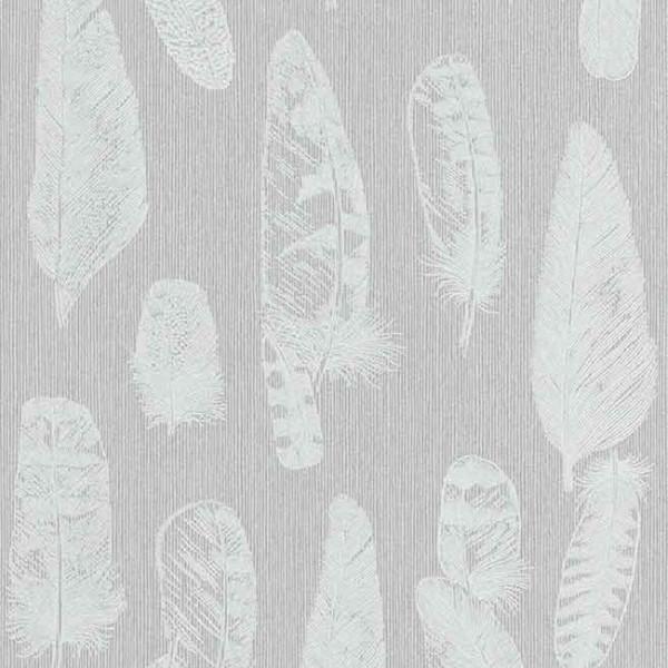 Papier peint intissé lessivable gris...