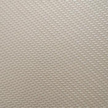 Tissu simili cuir tressé écru 140 cm