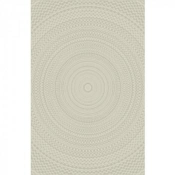 Tapis tressé beige effet spirale 120 x 170 cm