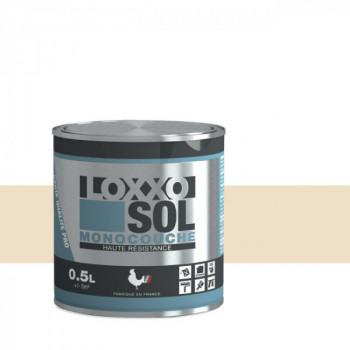 Peinture Loxxo spéciale sol blanc perle brillant 0.5 L