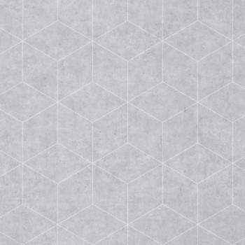 Sol PVC décor geométrique