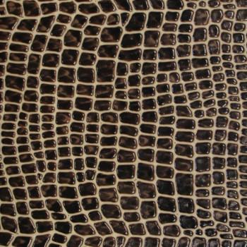 Tissu simili cuir aspect peau de bete 140 cm