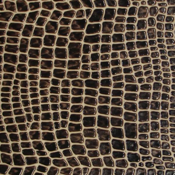 Tissu simili cuir aspect peau de bete...