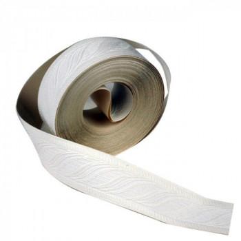 Bordure adhésive blanc