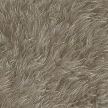 Fausse fourrure beige 150 cm