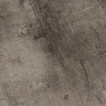 Sol PVC aspect béton industriel gris