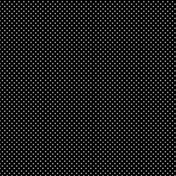 Tissu cretonne noir motif pois 150 cm