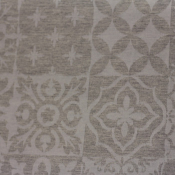 Tissu jacquard gris 160 cm