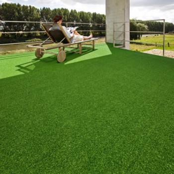 Gazon synthétique vert en 4 mètres