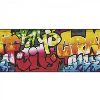 Frise murale TAG noir