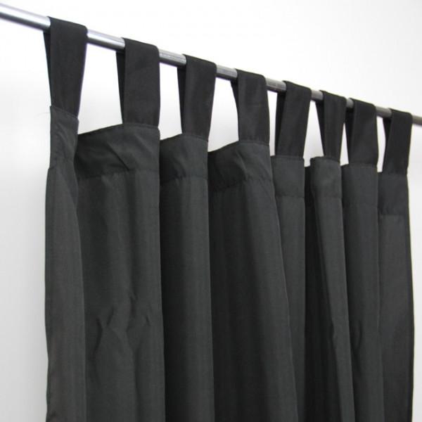 Rideau à pattes noir
