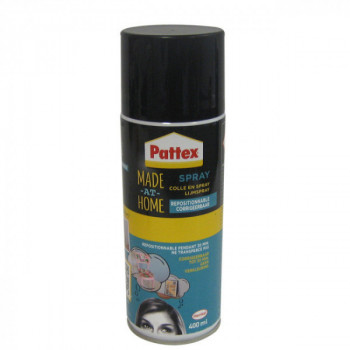 Colle en spray repositionnable PATTEX