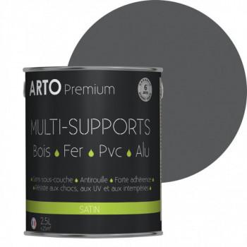 Peinture Arto Premium multi-supports anthracite satin 2,5L