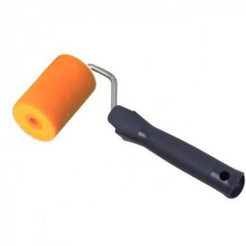 Mini rouleau mousse floquée 60 mm