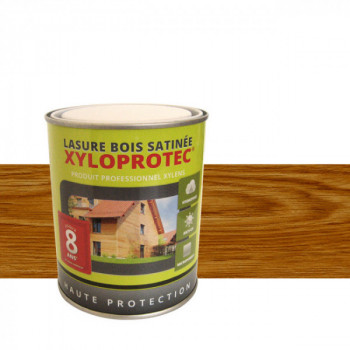 Lasure bois Xyloprotec teck satin 0,75L