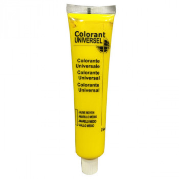 Colorant Universel jaune moyen 75 ml