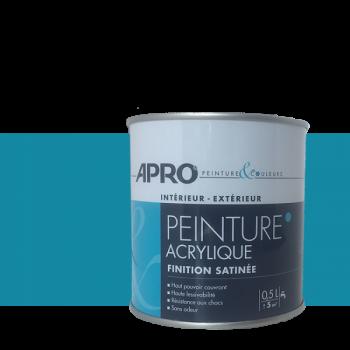 Peinture Apro multi-supports Murs, plafonds, boiseries, plinthes...bahamas satin  0,5 L