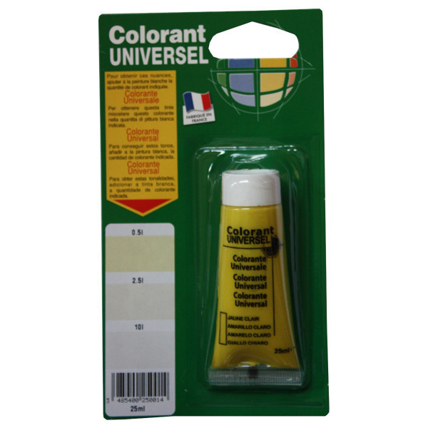 Colorant Universel jaune clair 25 ml