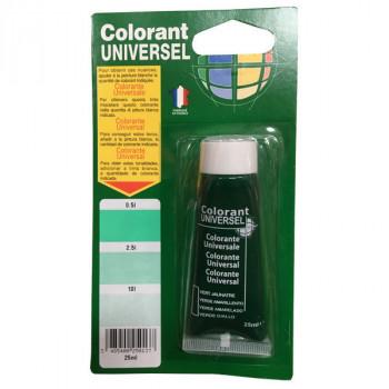 Colorant Universel vert jaunatre 25 ml