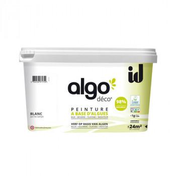 Peinture Algo multi-supports Murs, plafonds et boiseries blanc satin 2L