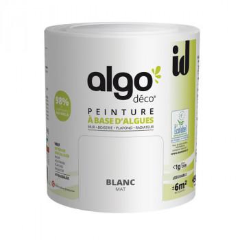 Peinture Algo multi-supports Murs, plafonds et boiseries blanc mat 0,5L