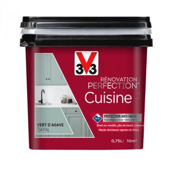 Peinture V33 rénovation cuisine gris loft satin 750 ML