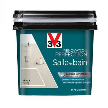 Peinture V33 rénovation salle de bain seigle satin 0,75L