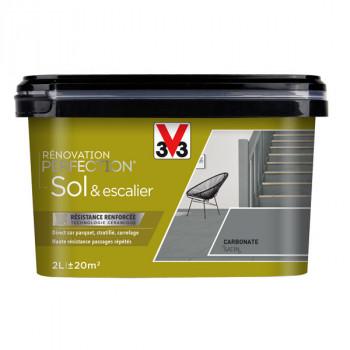 Peinture V33 Sol et escalier carbonate satin 2 L