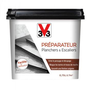 Peinture V33 préparateur de planchers et escaliers incolore 0,75 L