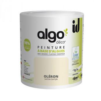 Peinture Algo multi-supports Murs, plafonds et boiseries beige oleron satin 0,5L
