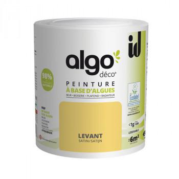 Peinture Algo multi-supports Murs, plafonds et boiseries jaune levant satin 0,5L