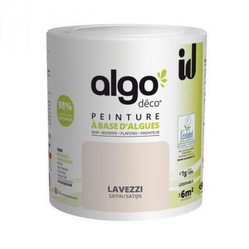 Peinture Algo multi-supports Murs, plafonds et boiseries rose lavezzi satin 0,5L