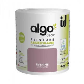 Peinture Algo multi-supports Murs, plafonds et boiseries violet everine satin 0,5L