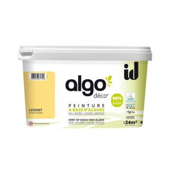 Peinture Algo multi-supports Murs, plafonds et boiseries jaune levant satin 2L