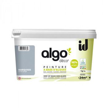 Peinture Algo multi-supports Murs, plafonds et boiseries bleu marquise satin 2L