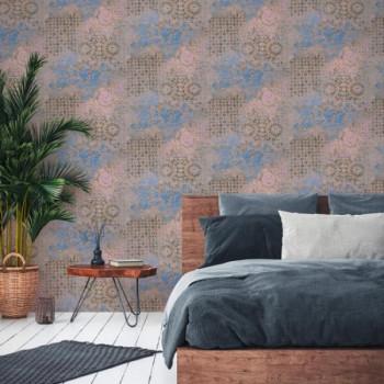 Papier peint intissé lessivable motifs baroque AS CREATION Antonio Barcelona