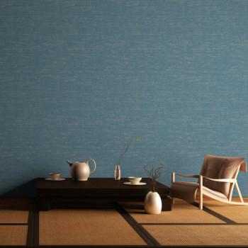Papier peint intissé lessivable style rayures bleu AS CREATION Mio Tokyo