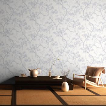 Papier peint intissé lessivable floral AS CREATION Mio Tokyo