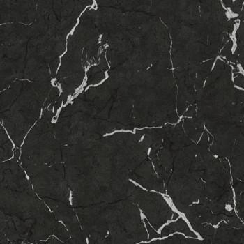 Papier peint intissé lessivable effet marbre noir AS CREATION Alena St Petersburg