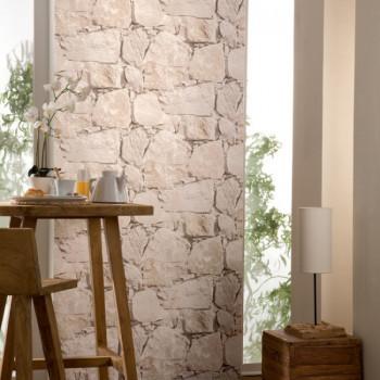 Papier peint mur de pierres naturelles