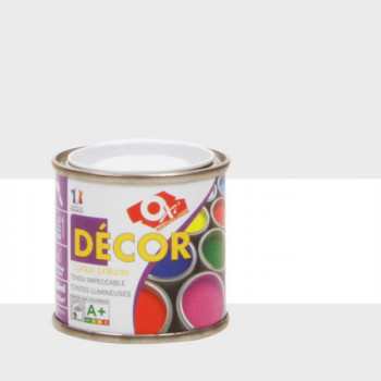Peinture Oxitol laque décorative blanc brillant 25 ML
